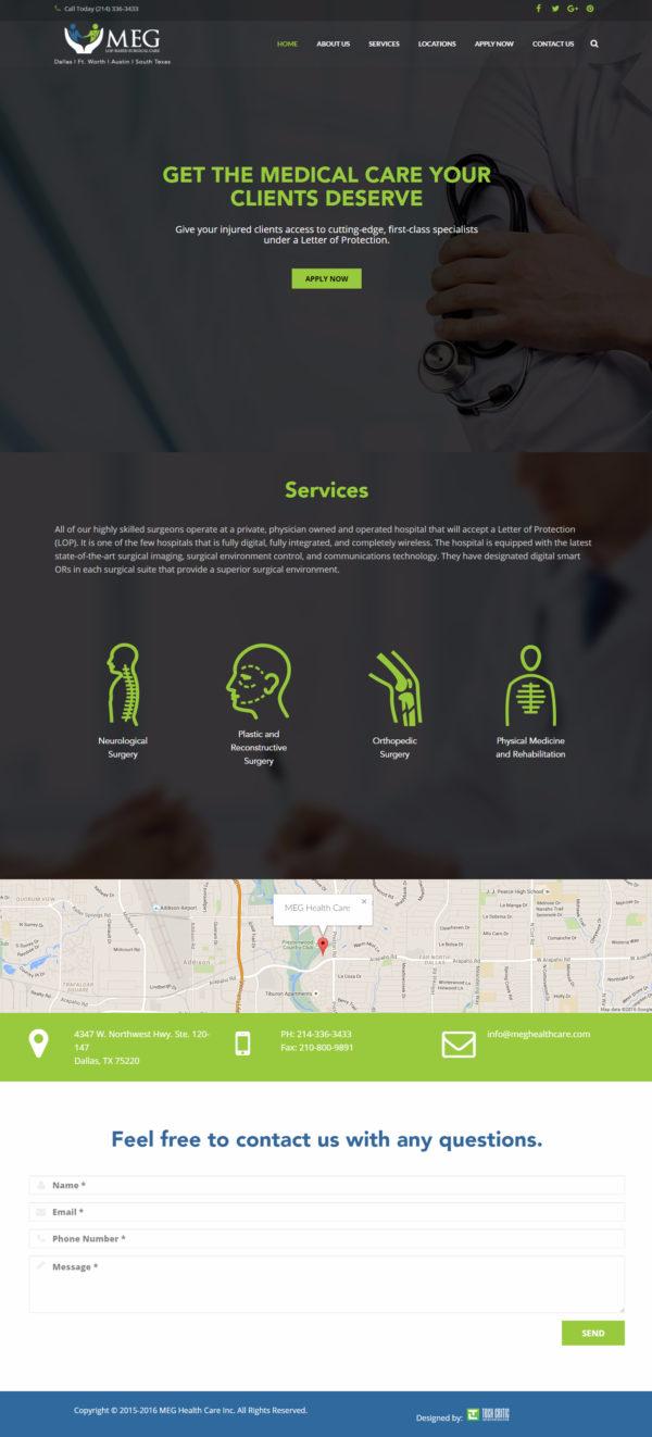 MEG Health Care, USA